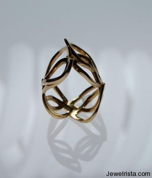 Evergold Rings by Jewelry Designer Alberto Bossi