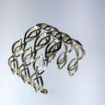 Alberto Bossi Silver Wrist Cuffs