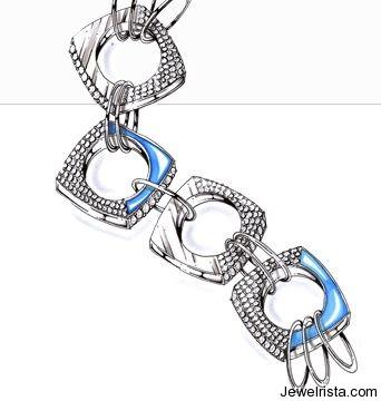 Diamond Bracelets By Jewelry Designer Angela Tonali