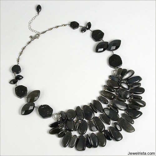 1 of A Kind Sterling Silver Necklace By Jewelry Designer Cynthia Rybakoff