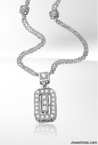 Dev Valencia Diamond Pendant