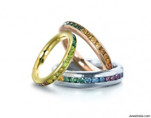Etienne Perret Diamond Channel Bands