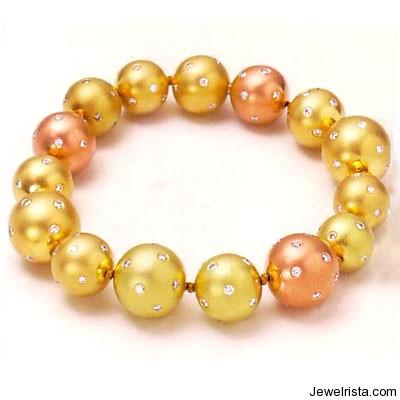 Starlight Bead Bracelet By Jewelry Designer Etienne Perret