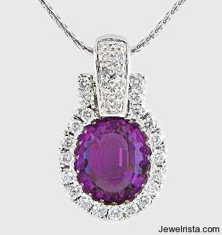 Diamond and Gem Pendant By Jewelry Designers Gottlieb & Sons