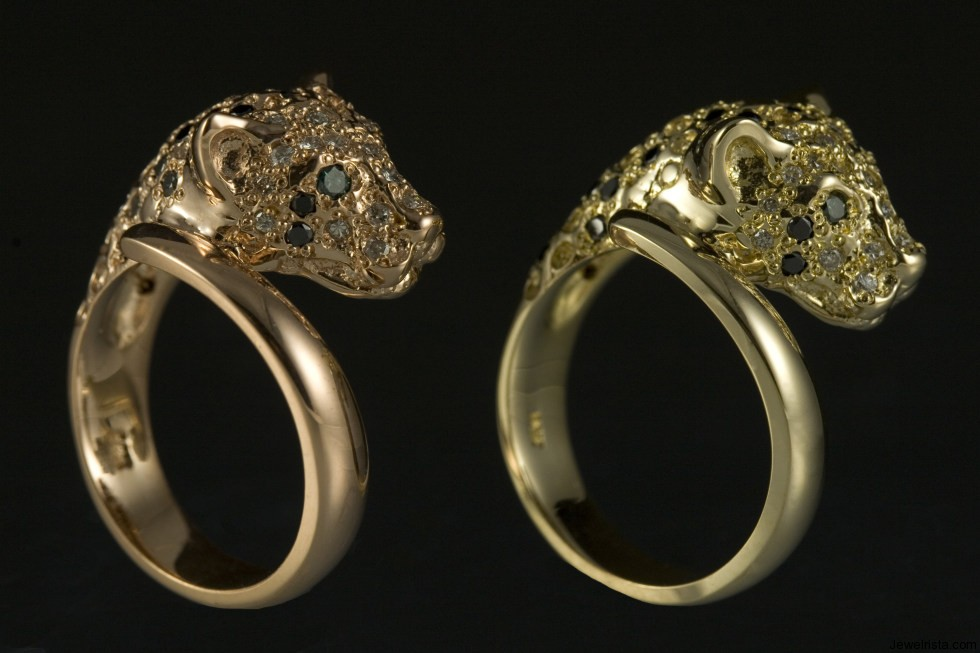Leopard Rings By Jewelry Designer Jeffery Alters