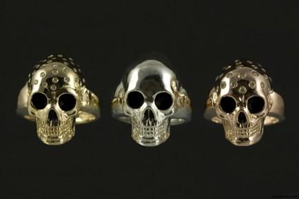 Jeffery Alters Lil Skull Rings