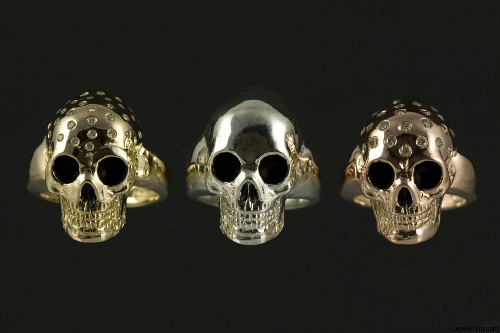Lil Skull Rings By Jewelry Designer Jeffery Alters