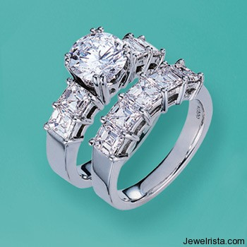 Platinum Diamond Rings By Jewelry Designer Judith Conway