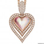 Kabana Diamond Mother of Pearl Pendant