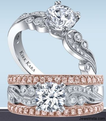 Kirk Kara Diamond Wedding Rings