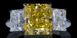Lazare Diamond Three Stone Ring