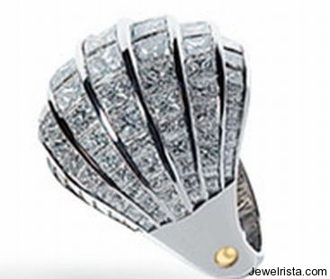 """Emblema"" Ring By Jewelry Designer Luca Carati"