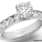 Martin Flyer Diamond Engagement Ring