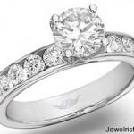 Martin Flyer Diamond Engagement Ring