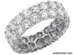 Martin Flyer Classic Diamond Eternity Band