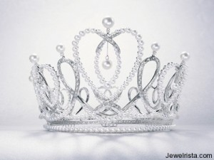 Mikimoto Rose Queen Crown