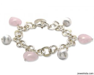 Mischa Rose Heart Bracelet