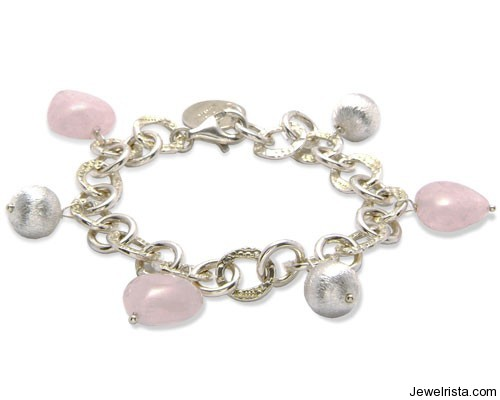 Rose Heart Bracelet By Jewelry Designer Mischa