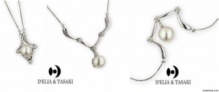 Tasaki Diamond and Pearl Pendant