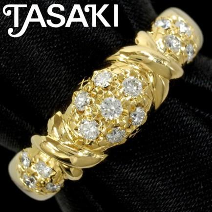 Tasaki Diamond and Gold Ring