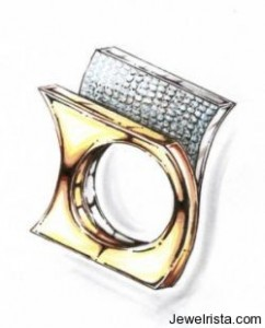Angela Tonali Ring