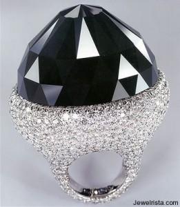 de Grisogono Black Diamond Ring