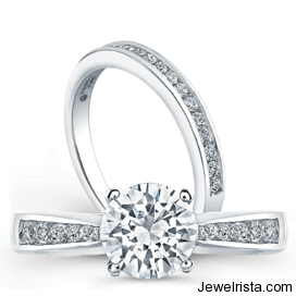 Duet View Engagement Rings by Jewelry Designer Jeff Cooper