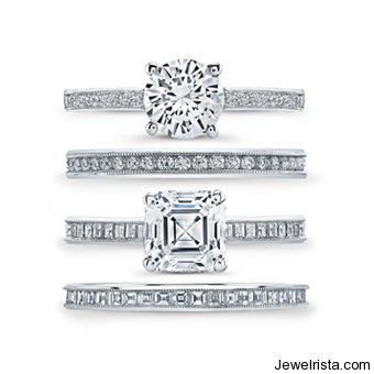 Heirloom View Engagement Rings by Jewelry Designer Jeff Cooper