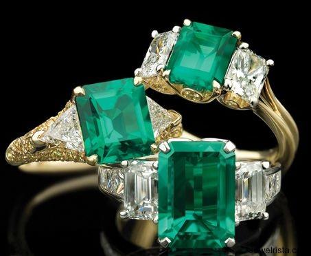 Emerald Gemstones By Jewelry Designer Richard Krementz
