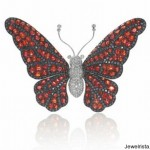 Rina Limor Diamond Butterfly