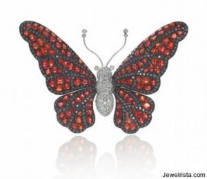 Rina Limor Diamond Butterfly