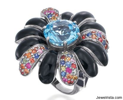 Flower Ring By Jewelry Designer Rina Limor
