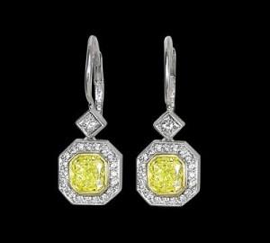 Ziva Diamond Earrings