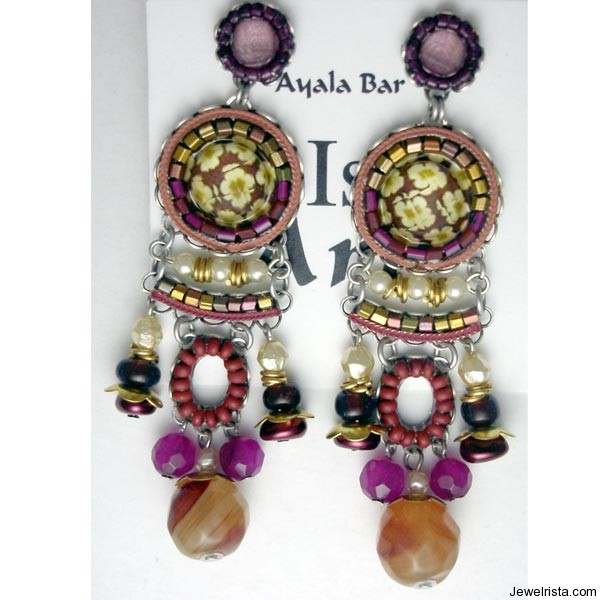 Fancy Earrings By Jewelry Designer Ayala Bar