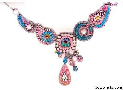 Fancy Necklace By Jewelry Designer Ayala Bar