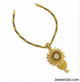 Gold Designer Wear By Jewelry Designer Bhima Jewellery