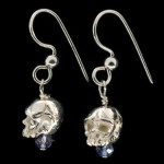 Johnny Rocket Skull Earrings