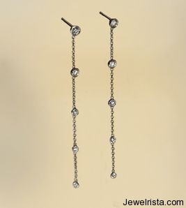 Diamond Earrings By Jewelry Designer Catherine Angiel