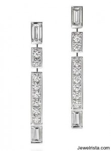 """Traffic"" Diamond Earrings By Harry Winston"