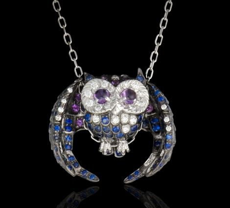 Chouette Pendant By Jewelry Designer Boucheron