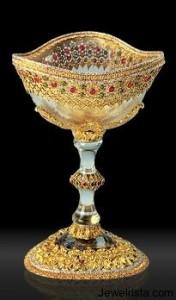 Gianmaria Buccellati Designer Jeweled Cup