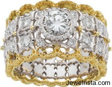 Gold and Diamond Ring By Jewelry Designer Gianmaria Buccellati