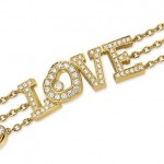18kt Gold Love Diamond Bracelet