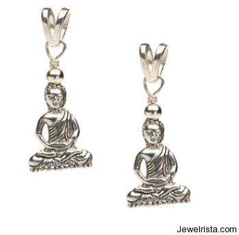 Silver Buddha Charm By Jewelry Designer Debra Shepard