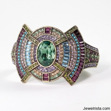 """Marjorie's Majestic"" Bangle Bracelet By Jewelry Designer Heidi Daus"