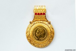 Gold Coin Pendent