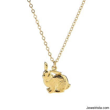 Bunny Charm By Jewelry Designer Kimberly Baker