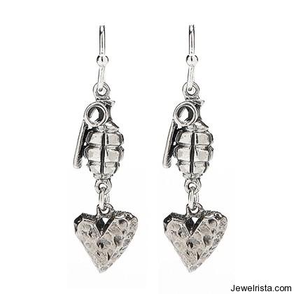 Frida Earrings By Jewelry Designer Kimberly Baker