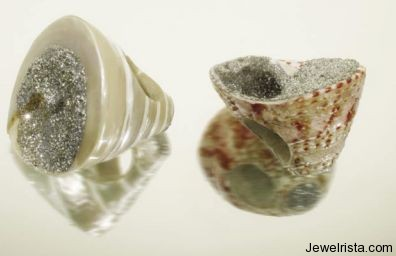 Shell Ring By Jewelry Designer Mesi Jilly