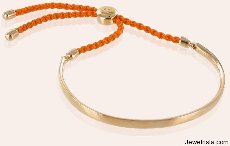 Rose Gold Health Bracelet By Jewelry Designer Monica Vinader
